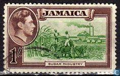 Jamaica - Sugarcane harvest 1938