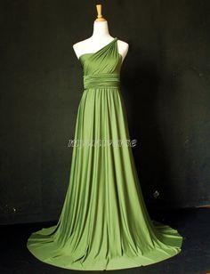 Sage Bridesmaid Dress Olive Green Infinity Dress by myuniverse, $99.00