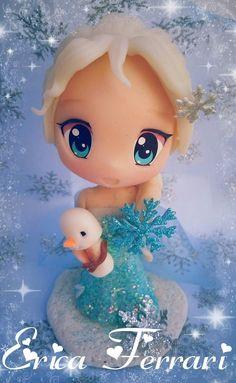 Elsa, de la mano de Erica Ferrari