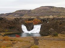 Hjálparfoss - Wikipedia, the free encyclopedia