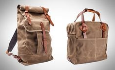 Tanner Goods Wilderness Rucksack and Everyday Tote