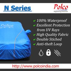 Polco N Series Car Covers | 100% Waterproof | High Quality Fabric
