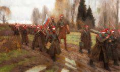 """7 мая 1918 года соединением войск генерала Дроздовского с частями добровольческой армии Деникина окончился переход Яссы-Дон, он же """"Дроздовский (Румынский) поход"""" — бессмертный подвиг Мужества и Веры новых Крестоносцев, рыцарей Креста и Меча."""