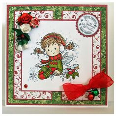 handmade card, Christmas, Hobby House Wee Stamp