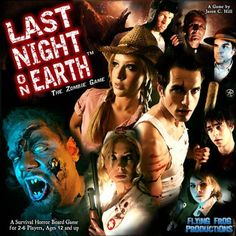 Last Night On Earth - The Zombie Game @ niftywarehouse.com #NiftyWarehouse #Zombie #Horror #Zombies #Halloween