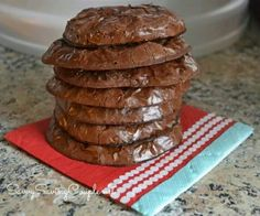Chocolate Brownie cookies Gluten Free