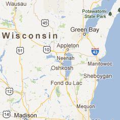 Roadside Attractions Map - Wisconsin