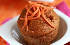 100-Calorie Carrot Ginger Muffins Recipe via @SparkPeople