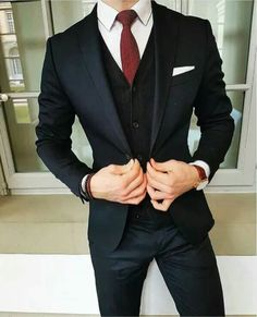Suit for slim people Mens Fashion | #MichaelLouis - www.MichaelLouis.com #menssuitsblue