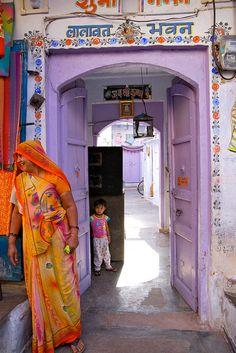 Curious . Rajasthan, India