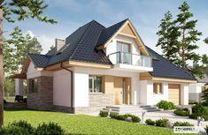 Finde moderne Häuser Designs von Pracownia Projektowa ARCHIPELAG. Entdecke die schönsten Bilder zur Inspiration für die Gestaltung deines Traumhauses.
