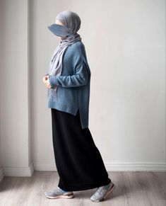 Stylish Hijab, Modest Fashion Hijab, Modern Hijab Fashion, Street Hijab Fashion, Modesty Fashion, Hijab Fashion Inspiration, Muslim Fashion, Fashion Outfits, Hijab Casual