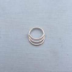 Septum Temple bague bijoux Rook Daith nombril Nipple Piercing Helix