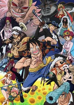 Another dressrosa picture because I love this arc.