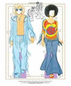 The History of Denim Paper Dolls: Tom Tierney: 9781935223719: Amazon.com: Books
