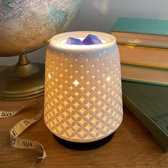 Colored Light Bulbs, Scentsy Wax Warmer, Cosy Corner, Wax Warmers, Body Warmer, Scented Wax, Diamond Pattern, Decoration, Spring Summer