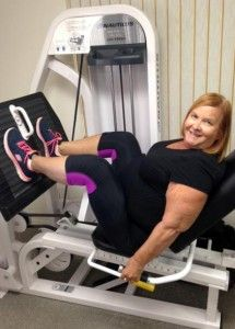 """Marti lost 6 inches off her waist, 5 inches off her hips, and 3 dress sizes!  Marti's advice to others with a similar distaste for exercise in general who are considering slow-motion strength training? """"Take the time to do it. What's 40 minutes a week out of your whole life? It's worth every penny."""""""