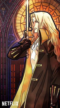 Stained glass phone wallpapers from Castlevania. Castlevania Dracula, Castlevania Games, Alucard Castlevania, Castlevania Netflix, Fanarts Anime, Manga Anime, Anime Art, Dark Fantasy Art, Castlevania Wallpaper