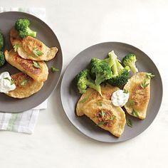 Cheddar and Potato Pierogies | MyRecipes.com