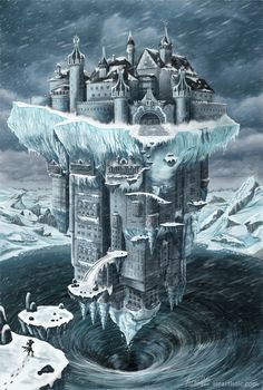 Floating Castle by isra-ac
