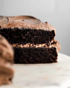 Gluten Free and Dairy Free chocolate cake! Chocolate Cake Frosting, Perfect Chocolate Cake, Cake Frosting Recipe, Gluten Free Chocolate Cake, Frosting Recipes, Chocolate Cakes, Crazy Cake Recipes, Crazy Cakes, Whole Food Recipes