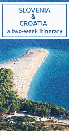A two-week itinerary around Slovenia and Croatia during summer with a car and a dog. From Bela krajina to Hvar island.