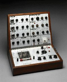 Synthesisers provided a wide open palette of colours and sounds to play with, but you still had to choose what you wanted to do and learn the discipline of this new technological form.' Dick Mills    Find out more - http://www.sciencemuseum.org.uk/objects/acoustics/1970-318.aspx