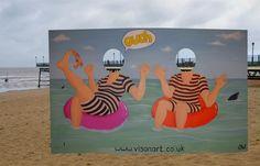 seaside cut out board