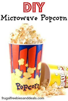 DIY Microwave Popcorn- No Way!!?  YUM!
