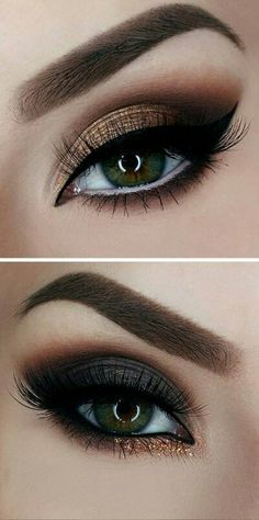 Trendy Wedding Makeup Smokey Glitter Ideas Trendy Hochzeit Make-up Smokey Glitter Ideen Makeup Geek, Cute Eye Makeup, Gorgeous Makeup, Skin Makeup, Makeup Inspo, Eyeshadow Makeup, Makeup Inspiration, Makeup Ideas, 80s Makeup