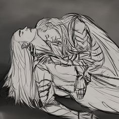 I think there are Thranduil and Elrond after the battle of the Last Aliance