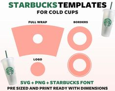 Cup Design, Coffee Design, Custom Starbucks Cup, Cricut Craft Room, Circuit Design, Tumbler Designs, Personalized Cups, Vinyl Cutting, Svg Files For Cricut