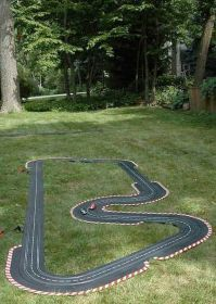 In case you are searching for some projects for your little boys, which can be kid's toys or fun decorations of boy's room, you are on the right place to be. As a parent we know that boys of all ages love to play with race cars, race tracks, and [. Outdoor Car Track For Kids, Car Tracks For Kids, Backyard For Kids, Outdoor Fun, Race Car Track, Race Cars, Race Tracks, Diy Projects For Kids, Diy For Kids