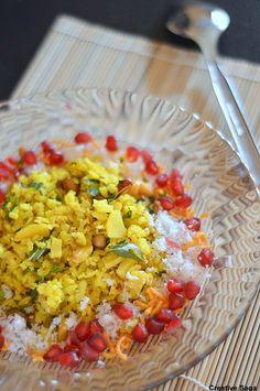 Indori poha recipe - Easy indian breakfast recipes