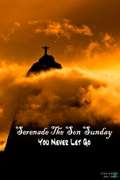 ♫ Lord, You never let go of me! ♪  . . . . #SerenadeTheSonSunday #YouNeverLetGo #praise #worship #music #song #Bibleverses