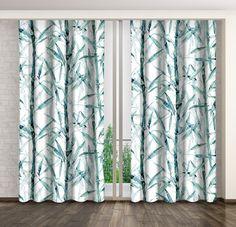 Závěsy do oken se vzorem bambus Curtains, Shower, Prints, Home Decor, Rain Shower Heads, Blinds, Decoration Home, Room Decor, Showers