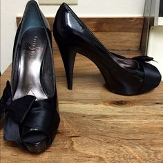 "Spotted while shopping on Poshmark: ""Paris Hilton heels size 7.5""! #poshmark #fashion #shopping #style #Shoes"