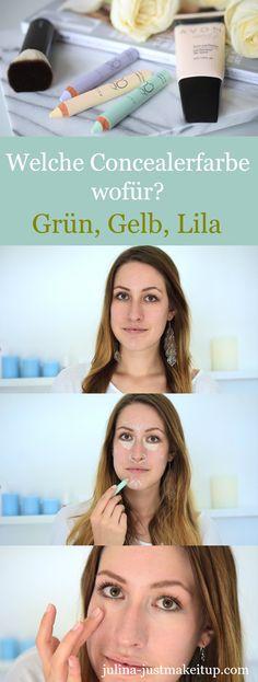 Welche Concealerfarbe verwendet man wofür? Mit dem richtigen Concealer kann man alles abdecken - Augenringe, Unreinheiten oder fahle Haut. In diesem Makeup Tutorial erfährst du, wofür man welche Farbe verwendet.