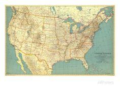 WorldMapExtraLargeVolNo The National Geographic - National geographic us map
