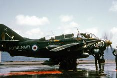 Picture of Fairey Gannet taken at At Sea, International Waters by Brian Johnstone on ABPic Navy Aircraft, Ww2 Aircraft, Aircraft Carrier, Naval History, Military History, Military Jets, Military Aircraft, International Waters, British Armed Forces