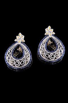 A beautiful pair of earrings...