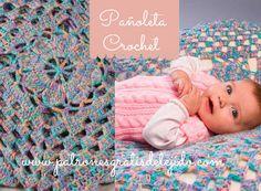 Cómo tejer pañoleta de bebé - aprende a tejer