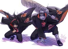 Itachi and Kisame - another one of my brotp