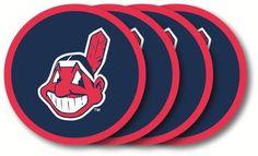 Cleveland Indians Coaster Set - 4 Pack
