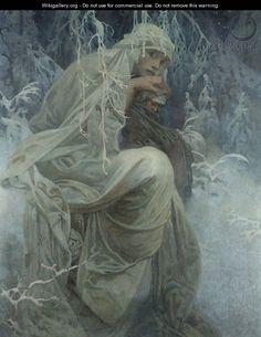 A Winter Tale, Alfons Mucha