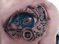 Tattoo by Stefano Alcantara, from Tattoo Acceptance in the Workplace facebook page