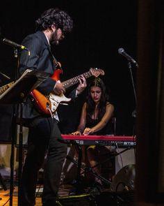 Arkestra #music #musician #concert #guitar #piano #band #stage #people #performance #night #lights #bar #art #girl #guitarrist #pianist #suit #instruments #electricguitar #funk #afrobeat #musicshow #livemusic #instamusic