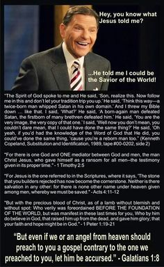 To follow Kenneth Copeland's teaching, you might as well follow Satan himself!