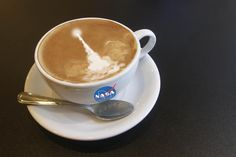 NASA's Kennedy Space Center  Happy National Coffee Day everyone!! This cup is on us!