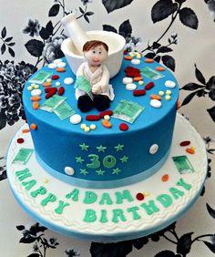 Pharmacist cake - by Waterlooville Cake Co @ CakesDecor.com - cake decorating website